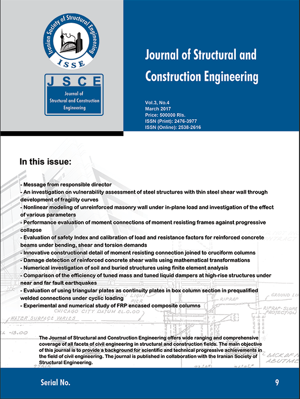 Evaluation of Safety Index and Calibration of Load and